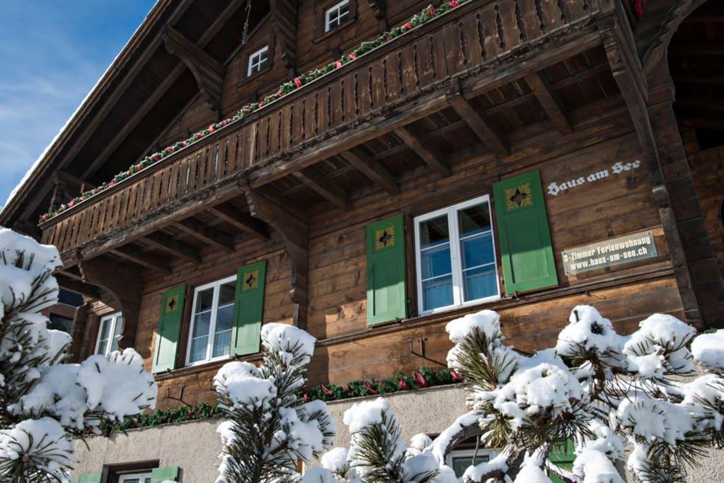 Haus am See - das Chalet für Ferien in den Bergen am See