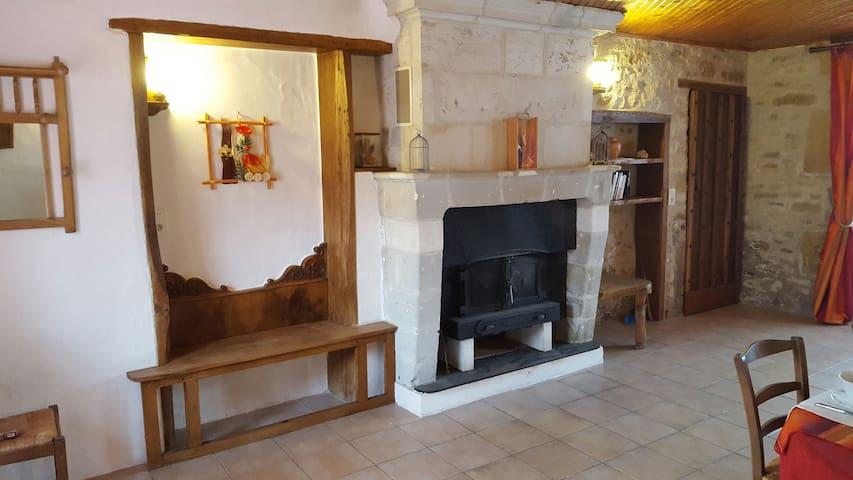 Chambre Bleue à Féole en Vendée (85) - La Réorthe - Dom