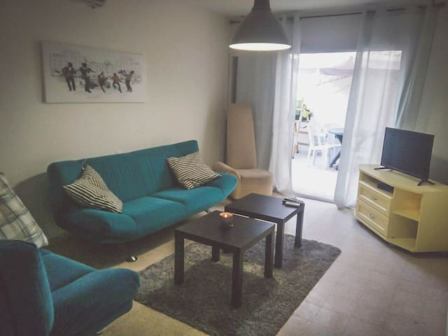**Ground Floor with Balcony** Cozy Apartment - Eilat - Byt