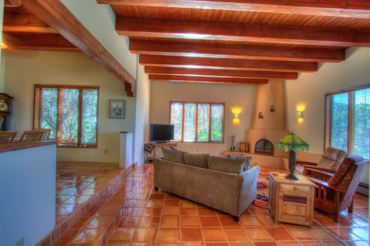 Beautiful Authentic Santa Fe Style Home With Incredible Views