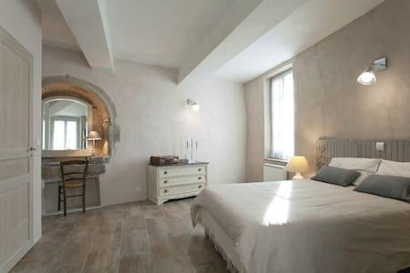 Chambre parentale, Douche italienne - Calvisson - Casa