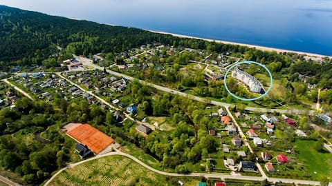 Saulkrasti - beach and forest