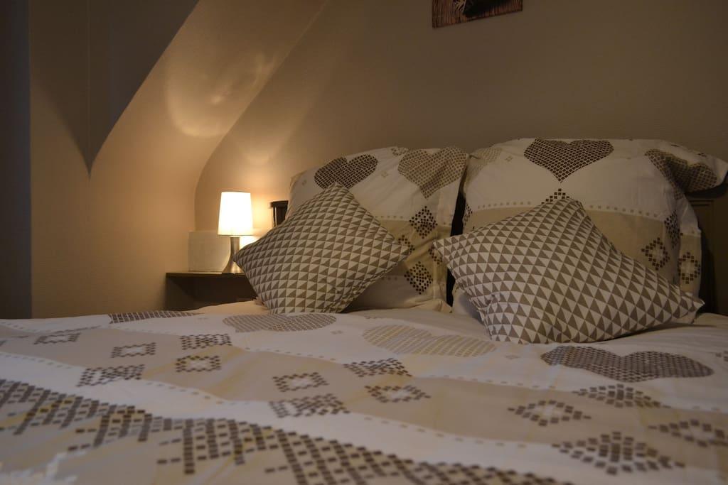 Le lit 2 personnes