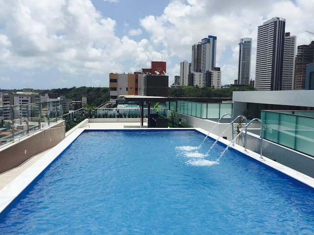 Flat Cabo Branco - Apart Hotel Lux III