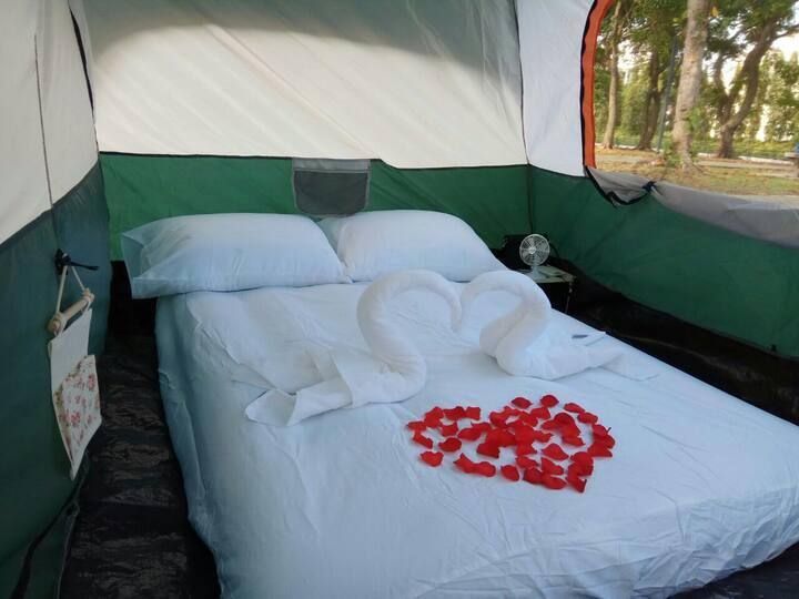 Posh, Spacious, Luxurious Beachfront Tent