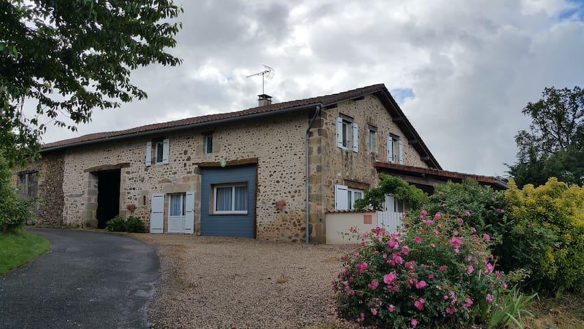 Gîte rural à proximité  Dordogne et  Limousin. - Rouzède - Prázdninový dům