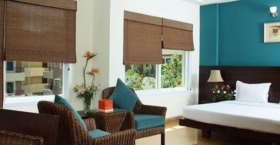 Modern 1-Bedroom Apartment in Whitefield - Bangalore