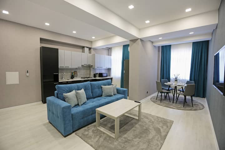 Elyor's new apartment No.6th of 20, area 74 m2