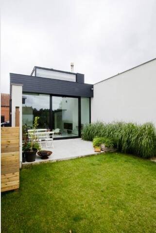 Architectural house in Ghent - Gent