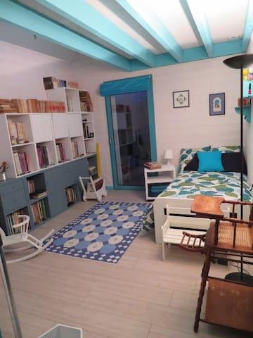 Chambre Ecole 4 pers. bois de Carnac
