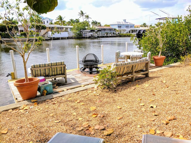 Charming waterside apt by the beach - Bonita Springs - Apartment