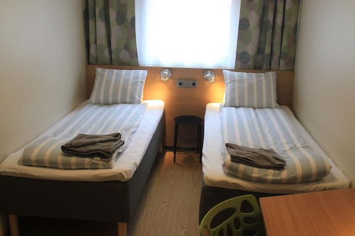 Private double room in hostel