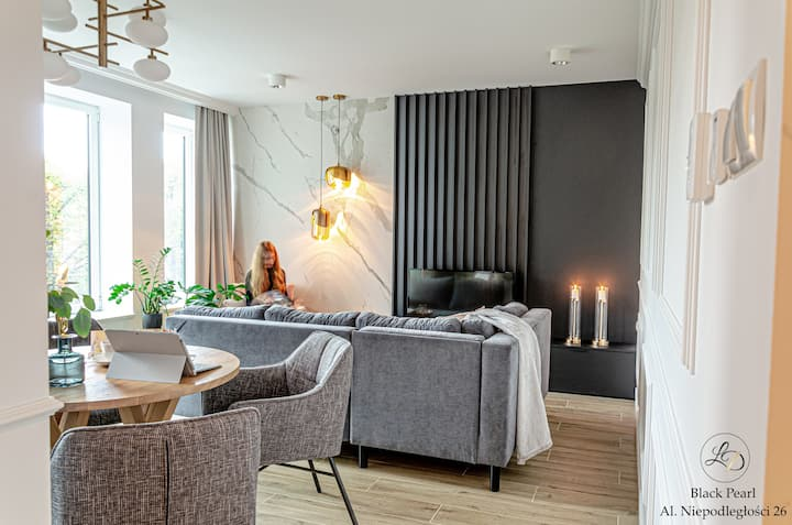 Black Pearl • Szczecin Centre Apartments LD