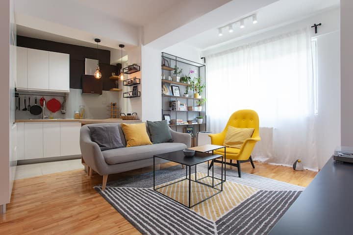 Cozy place in the heart of the city [Free Parking]