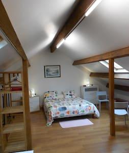 Grand appartement indépendant au 1er étage Maison - Ozoir-la-Ferrière