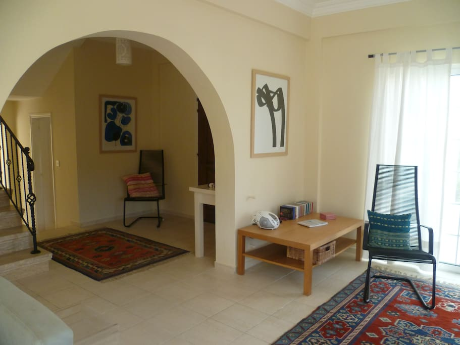 Lounge and hall