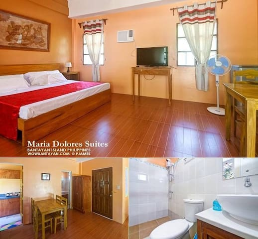 Bungalow Room in Santa Fe,Bantayan Island, Cebu - Santa Fe - Apartment