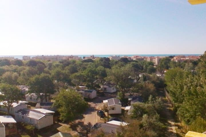70m2 terrasse vue panoramique mer, proximité plage
