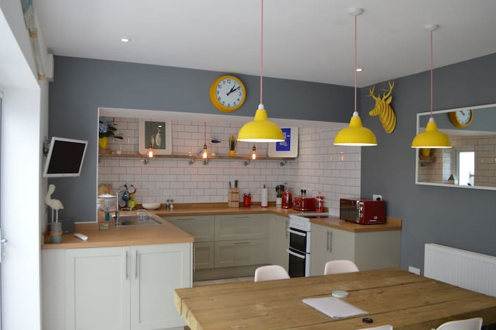 Cartrefle, Seaside holiday home, Sleeps 6 - New Quay - Haus