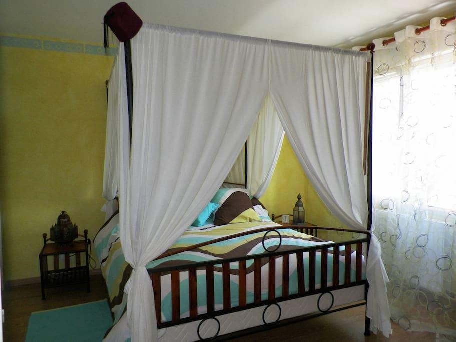 Votre chambre avec votre petit salon