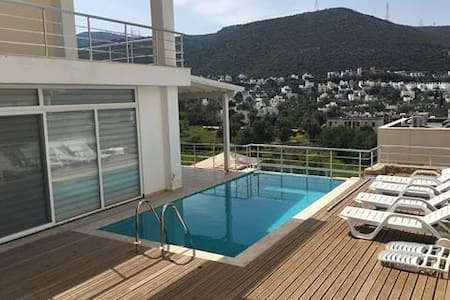 Torba 4+1 special villa with private pool - Bodrum