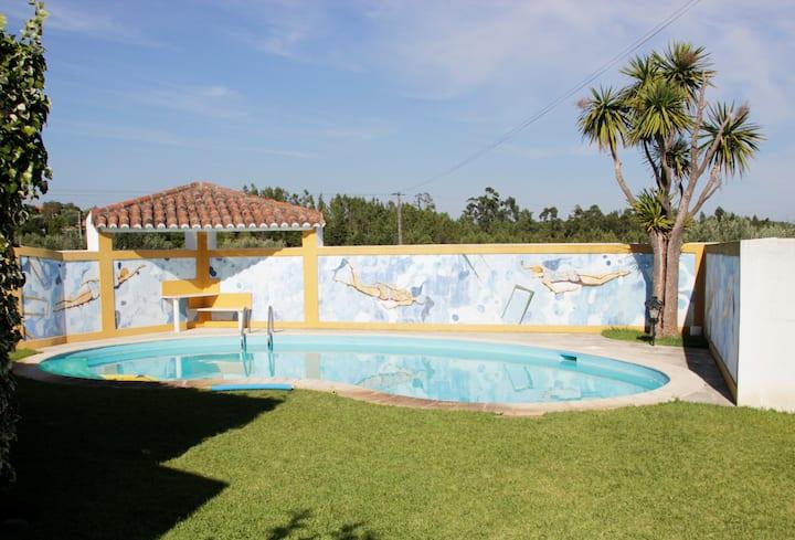 Casa do Vale da Pedra-Garden, Pool,Quiet,Nature