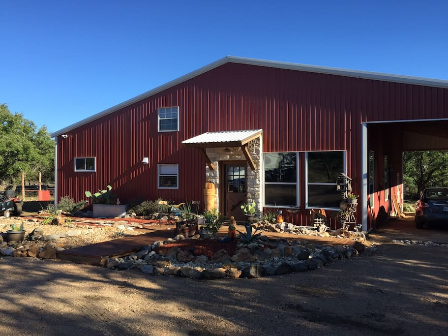 The owners ranch house Barndominium