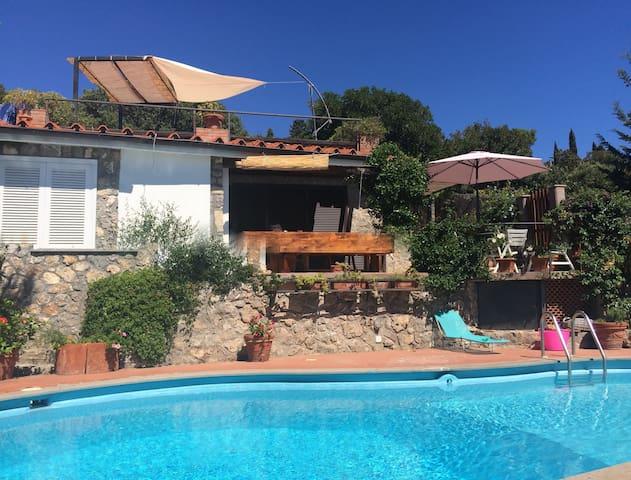 Villetta con piscina privata - Ansedonia - 별장/타운하우스