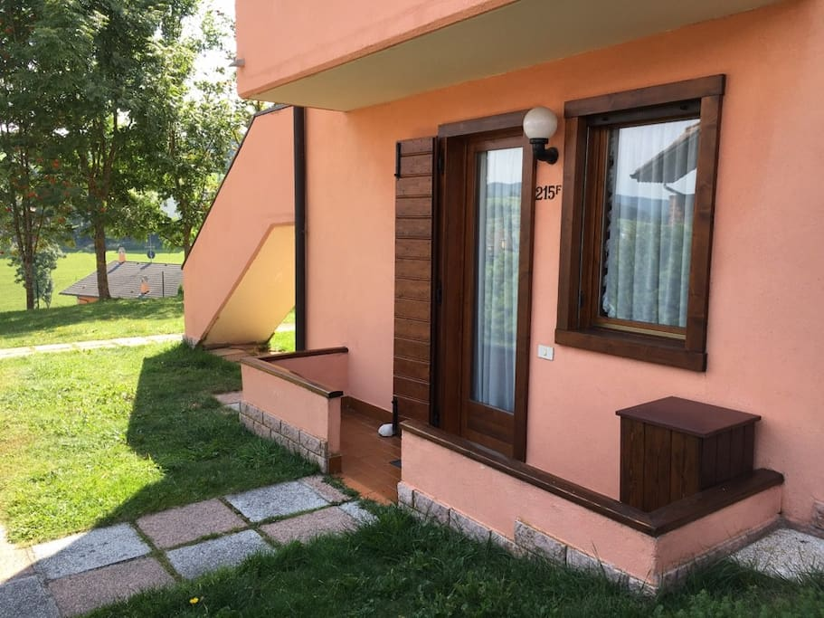 Residence la rosa tricamere al piano terra for Appartamenti in affitto ad asiago
