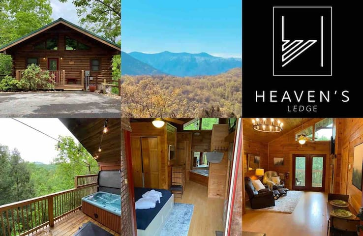 Gatlinburg private oasis for 2 w/fab view!