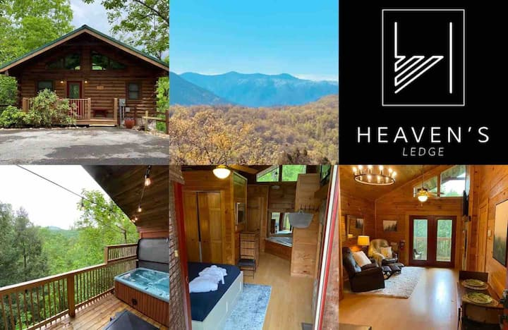 Romantic Gatlinburg private oasis for 2 w/fab view