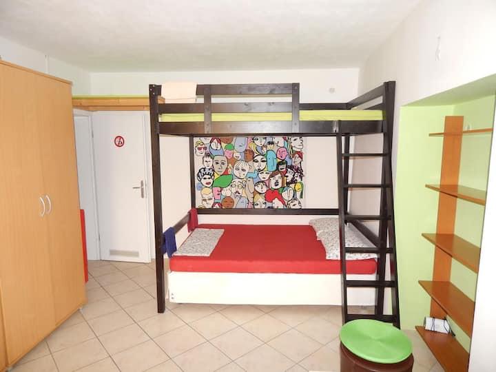 apartment for 3, MLADINSKA 7, room N. 1L