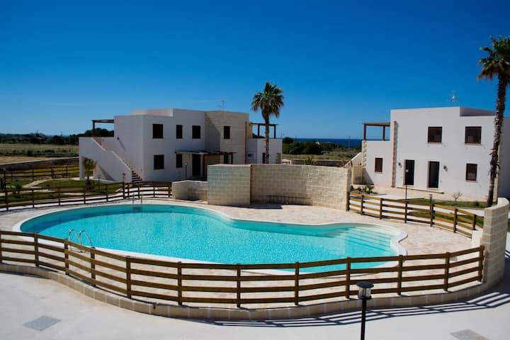 """Boa Vista Favignana - """"Grecale""""  1°P Pool View"""