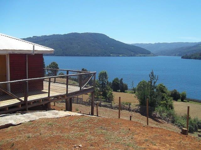 Descanse a orillas del Lago Mas limpio de Sudamerica.