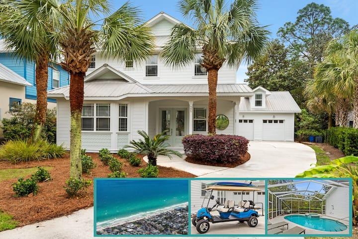 Vibe:  Newly-renovated coastal living experience.