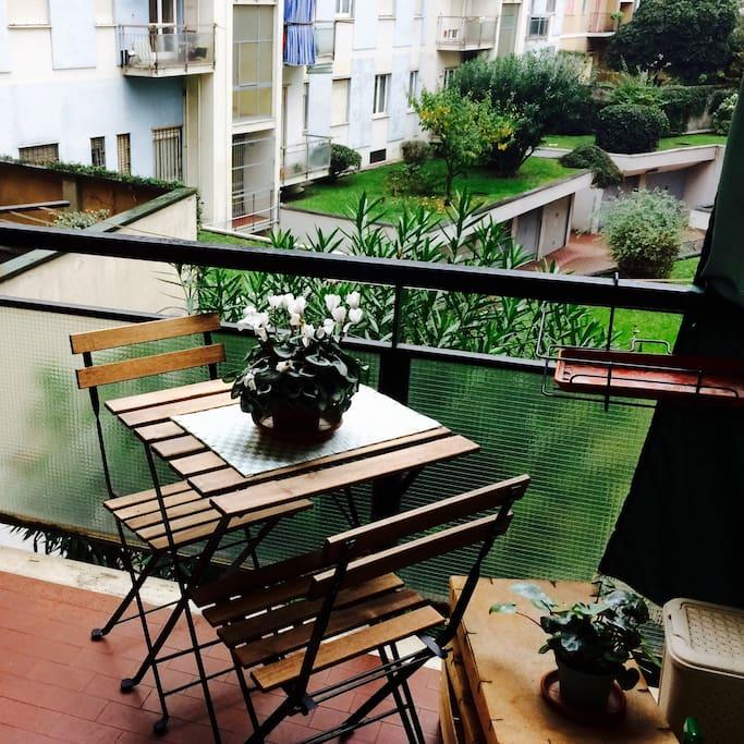 Balcone della cucina Kitchen Balcon