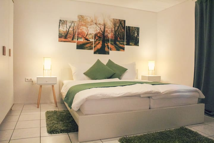 Moderne Souterrain-Wohnung bei Karlsruhe