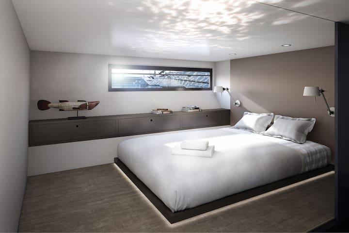 Luxuriöses Hausboot,einzigartig an der Côte d'Azur
