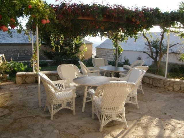Two bedroom apartment with terrace and sea view Bol, Brač (A-2879-b)