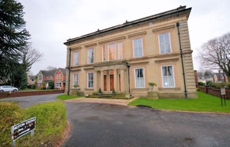Beautiful mansion house apartment - Bury - Apartment
