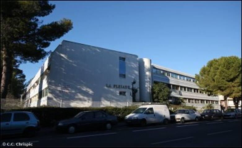 Habitacion en estudio Norte Montpellier - Montpellier - Apto. en complejo residencial