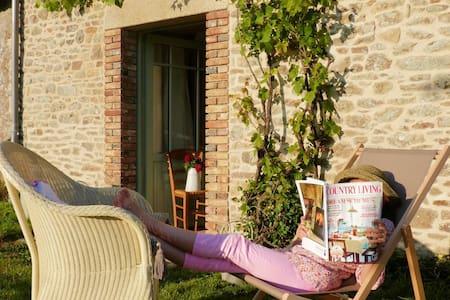 Gîte de charme près de golfe du Morbihan - Plumergat - 一軒家