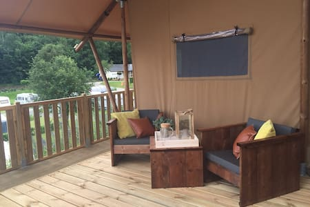 Glamping Lodge 1-5 pers. - Wiltz