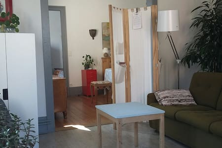 Appartement cosy et rétro proche centre ville