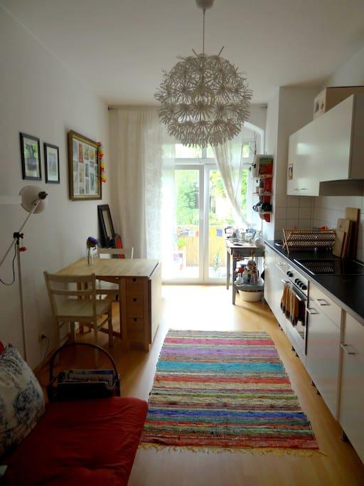 livingroom/ kitchen