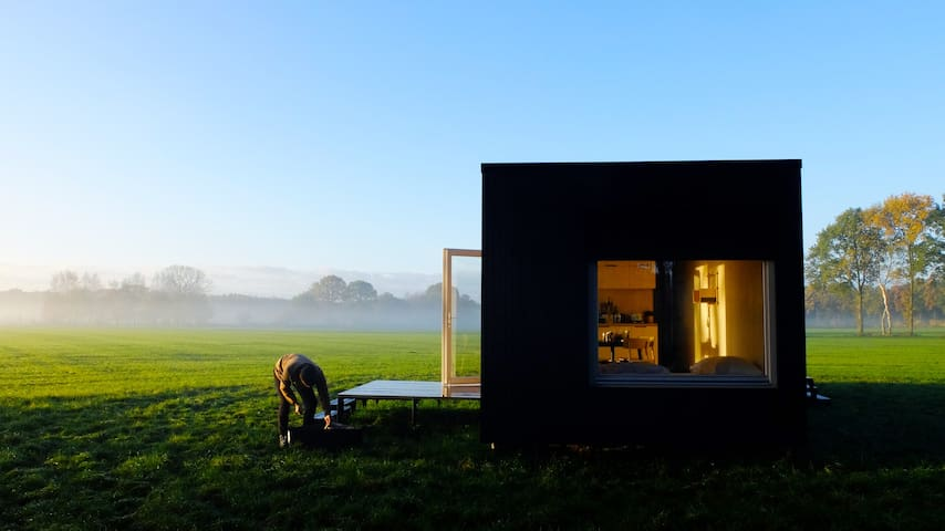 Pop Up Eco Cabin in unspoiled nature (Limburg)