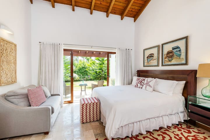 In your vacation room, you'll have a big cozy bed for a royal sleep, large wardrobe and AC