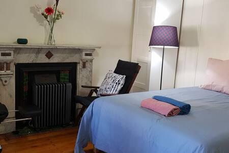 Ikea Hidrasund  bed,  massage chair,  green garden