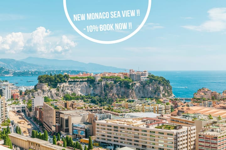 ⭐SEE VIEW&MONACO⭐STUDIO COSY⭐PERFECT LOCALISATION⭐