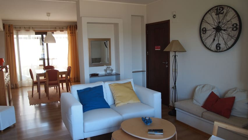 Riverfront Apartment 500 meters from the beach